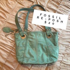 mint fossil 🗝 shoulder bag